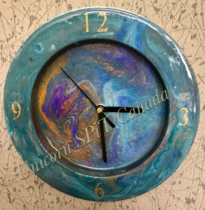Epoxy Resin Clock